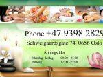 Kontaktinformasjon Pairin Spa Oslo